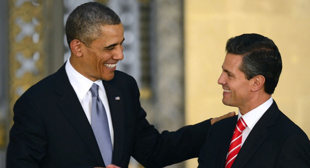 U.S. President Obama and Mexican President Nieto